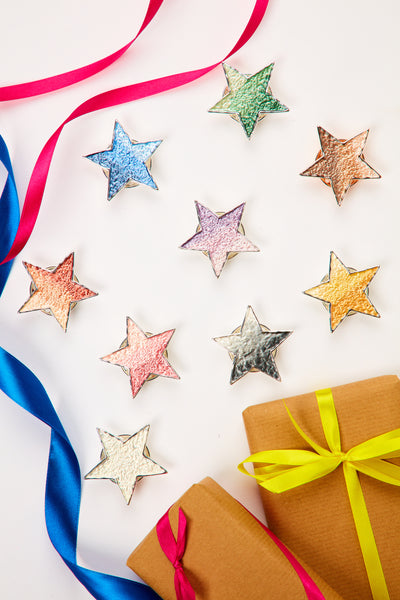 Magnet star brooch - Various colours