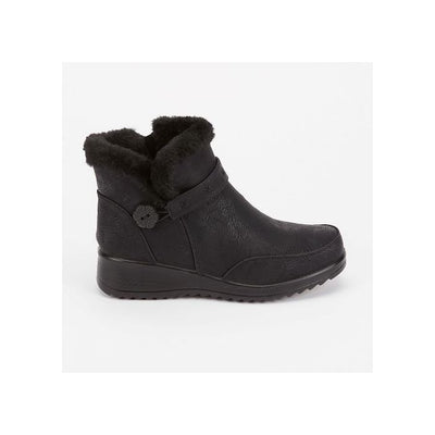 Mable cosy boot - Black