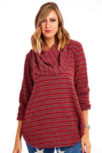 Matilda jumper - Candy Red