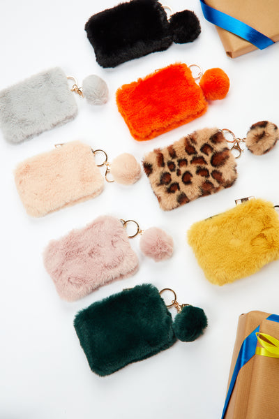 Polly POM purse - Various colours