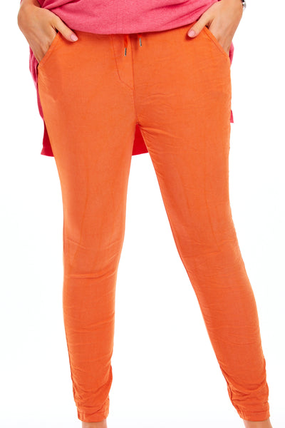 Willow magical stretch trousers - Orange
