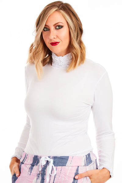 Layering Top - White