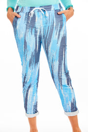 Artist causal pants - Blue