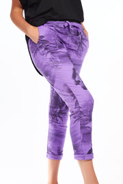 Magical stretch trousers - Tropical Purple 2 fits available