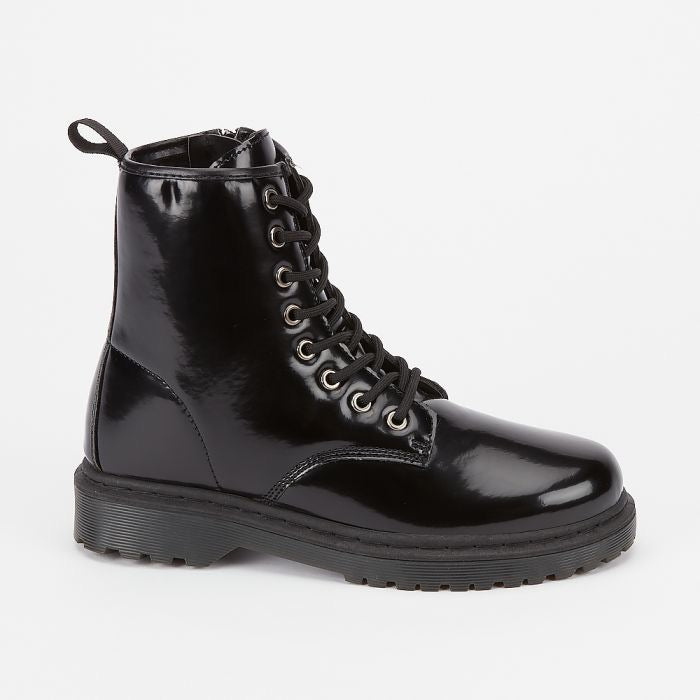 Wentworth High shine  boots - Black