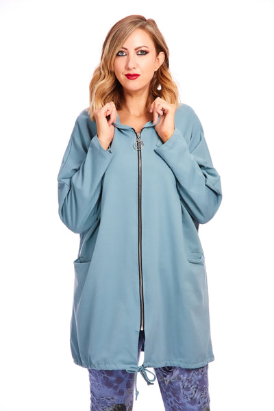 Zippy jacket - Teal