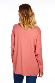 Love & Wild loose fit top - Blush