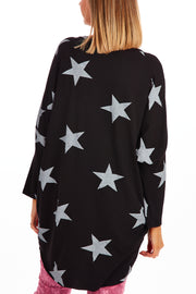 Starry night tunic - Black