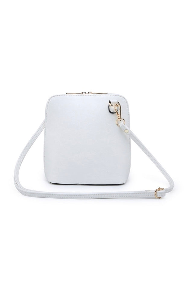 Darcy cross body bag - White