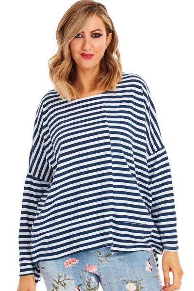 Seaside stripes - Navy