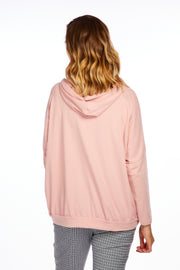Blessed light weight hoodie - BABY PINK
