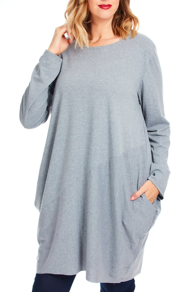 Midnight hour tunic dress - Grey