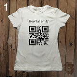 Custom QR Code Tees by Grizzly Where - Womens' - Grizzly Where