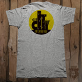 Brew City Milwaukee Graphic Tee - Front & Back - Unisex - Grizzly Where