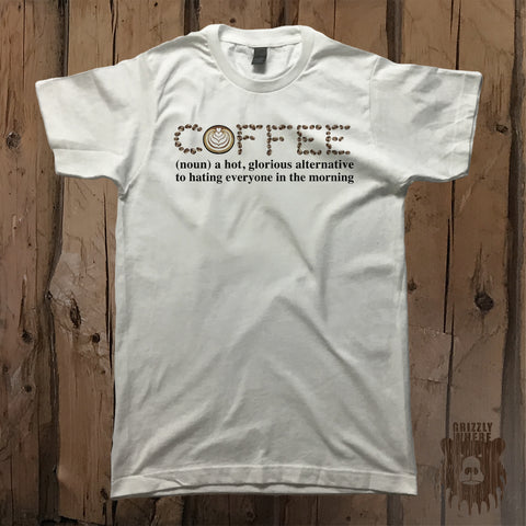 Definition of Coffee Graphic Tee - Unisex - Grizzly Where