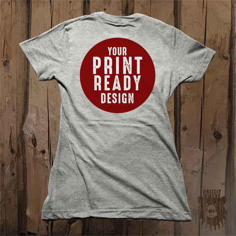 Your Print Ready Design - Grizzly Where