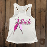 Customizable Team Bride Bachelorette Party Graphic Tank - Grizzly Where