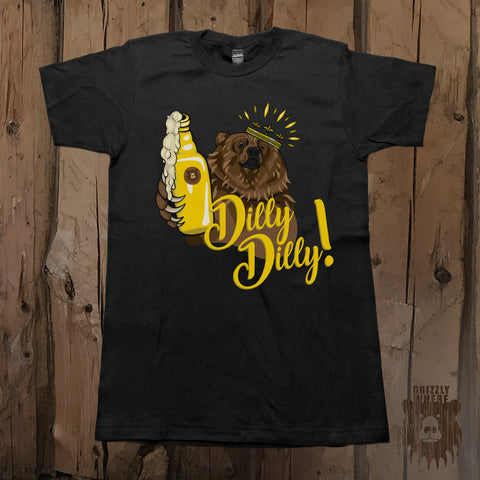 Dilly Dilly Pit of Misery Bear Graphic Tee - Unisex - Grizzly Where