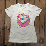 Whatever Sprinkles Your Donut Graphic Tee - Womens' - Grizzly Where