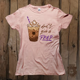 Don't Give A Frap Graphic Tee - Womens' - Grizzly Where