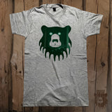 Night Vision Bears Graphic Logo Tee - Unisex - Grizzly Where