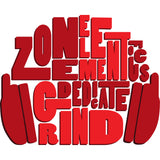 Motivational Headphone Grind Element Zone Graphic Tank - Red - Grizzly Where