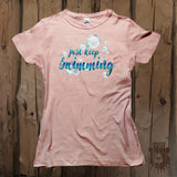Just Keep Swimming Graphic Tee - Womens' - Grizzly Where