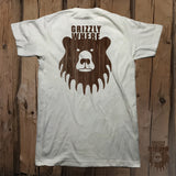 Grizzly Where Logo Graphic Tee - Front & Back - Grizzly Where