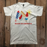 Made In America Party Graphic Tee - Unisex - Grizzly Where