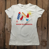 Made In America Party Graphic Tee - Womens' - Grizzly Where