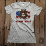 Grizzly Where Made In The USA Graphic Tee - Womens' - Grizzly Where