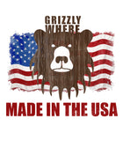 Grizzly Where Made In The USA Graphic Tank - Grizzly Where