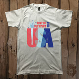 Winter Olympics USA Graphic Tee - Unisex - Grizzly Where