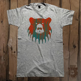 Blaze Orange Sky Graphic Logo Tee - Unisex - Grizzly Where