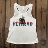 Coffee Pothead Graphic Tank - Grizzly Where
