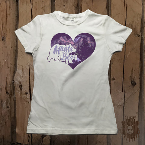 Mama Bear Love Graphic Tee - Womens' - Grizzly Where