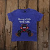 Daddy's Little Riding Buddy ATV Graphic Tee - Youth - Grizzly Where