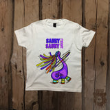 Saury I'm Not Saury Dinosaur Graphic Tee - Youth - Grizzly Where