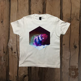 Waterfall Bear Galaxy Graphic Tee - Youth - Grizzly Where