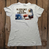 Support Our Troops Eagle Graphic Tee - Womens' - Grizzly Where