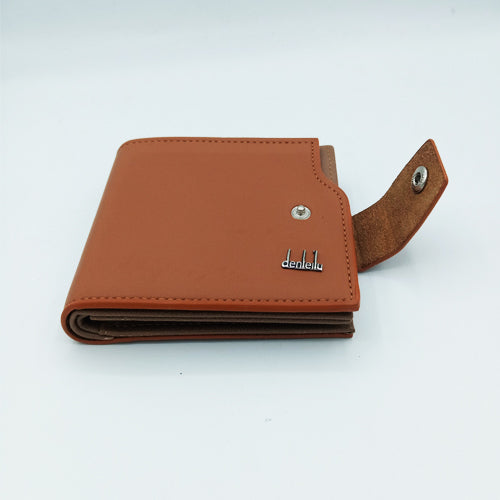 Luxus Denleilu Men's Wallet - Brown