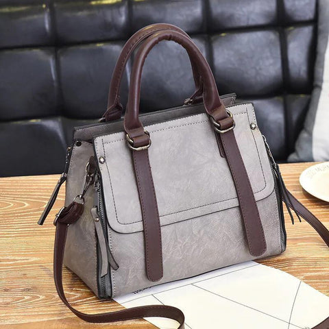 Zahra Kaliha Bag for Women - Grey