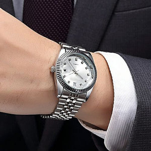 Classic RX Silver Watch For Men