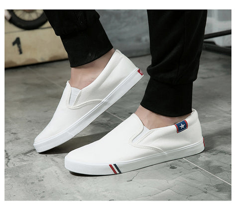 Melvin-Fash Unisex Sneakers (White)