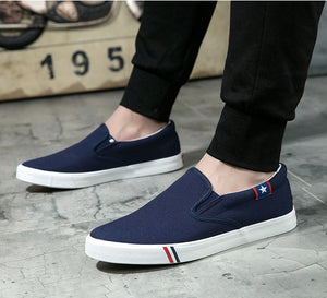 Melvin-Fash Unisex Sneakers (Blue).