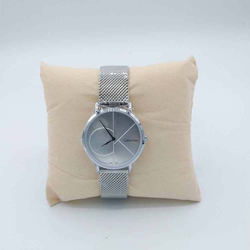 Janie CK Classic Silver Watch For Women