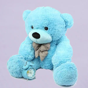 Jeffrey Teddy Bear (Blue)