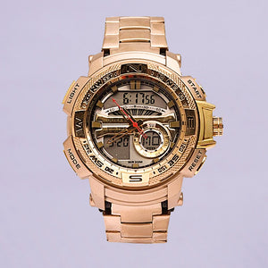 JoeFox Gold Digital WristWatch