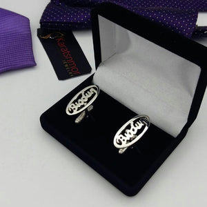 Copy of Karats Moore Luxury Customized Executive Cuff-links (Style 3)