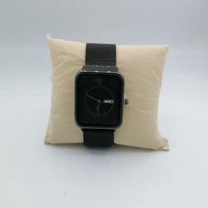 Lanio AP Black Mesh Watch